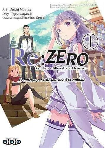 Avis Manga – Re : Zéro T1 & T2