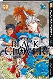 Avis Manga – Black Clover 12