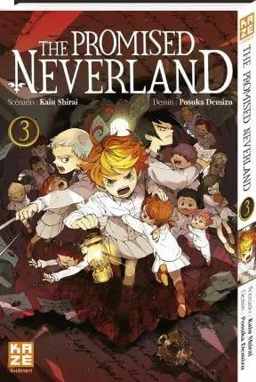 Avis Manga – The Promised Neverland 3
