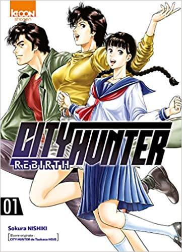 Avis Manga – City Hunter Rebirth 1