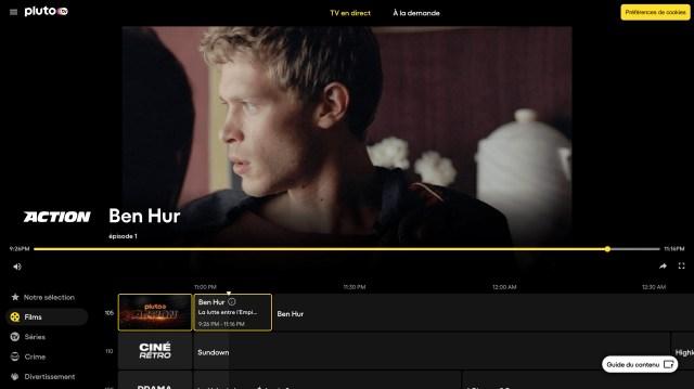Pluto Tv Interface2