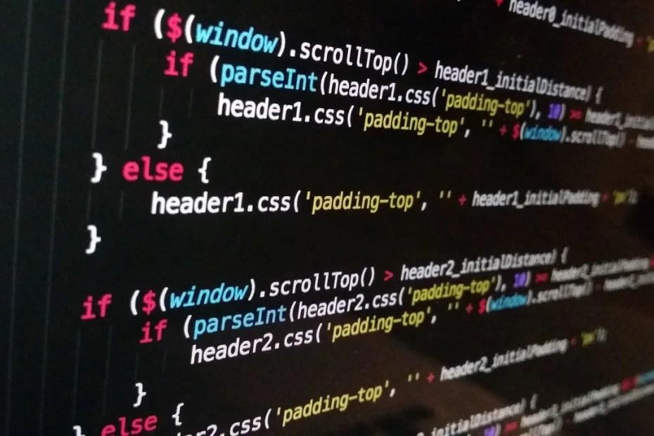 Image représentant du code javascript