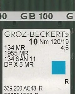 Groz Beckert 134x5 MR 4.5 needles
