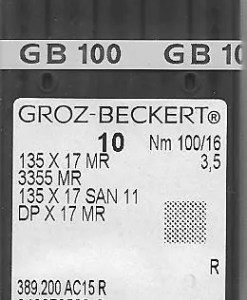 Groz Becket San 11 size 16 needles