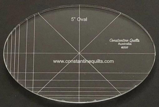 "5"" oval"