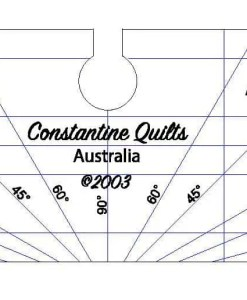 Applique and ditch guide