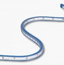 Flexible Curve Ruler
