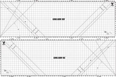 Beba's Longarm cutting mat 10ft