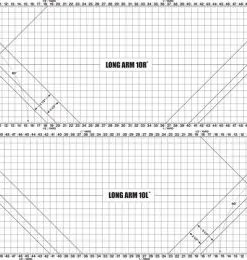 Beba's Longarm cutting mat 10ft