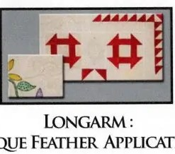 Longarm Unique Feather applications and Rice bags, side leaders and Racking your Quilt