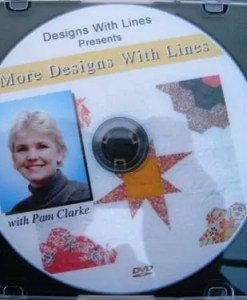 More Designs with Lines DVD