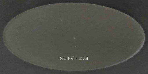 no frills skinny oval