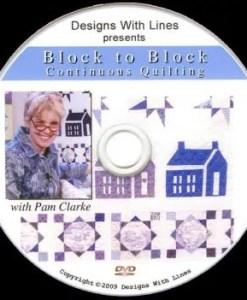 Block to Block Continuous Quilting DVD workbook