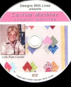 Custom Machine Sampler Quilting DVD workbook