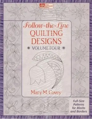Follow-the-line Quilting Designs Vol 4