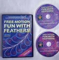Free Motion Fun with Feathers Volume 2
