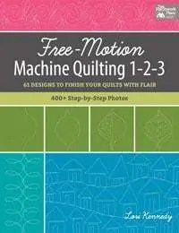 Free motion quilting designs 1-2-3