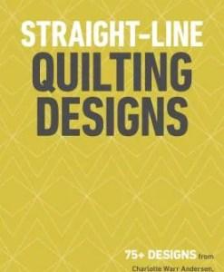 Straight Line quilting designs