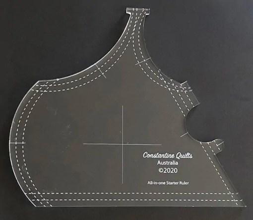 All-in-one starter ruler