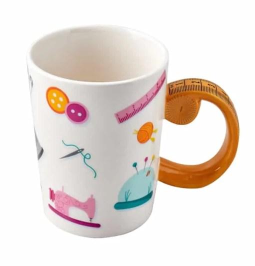 Sew Thirsty sewing mug