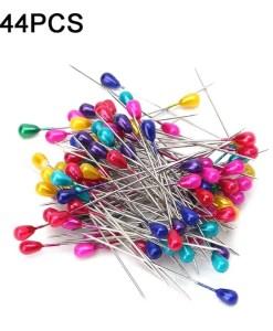 Pearl coloured teardrop pins