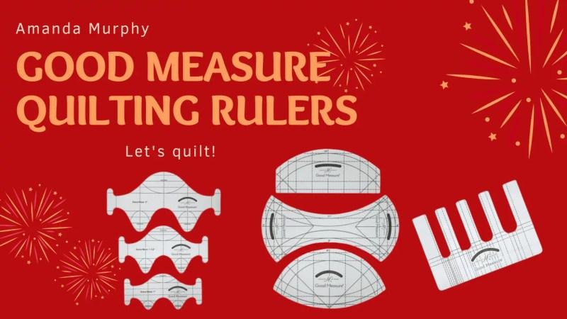 Good Measure Amanda Murphy Rulers