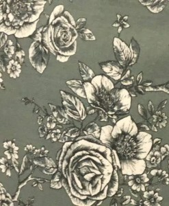Rose Tile wide fabric