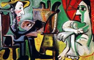 Picasso le peintre et son modèle