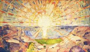 Munch, Le soleil, 1909, 1916