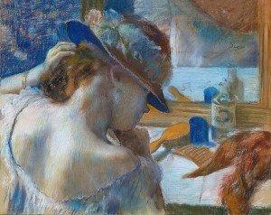 Edgar Degas, Devant le miroir 1889