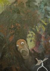 Hazardul și nașterea angoasei VII, ulei pe pânză, 50x70 cm, an: 2012