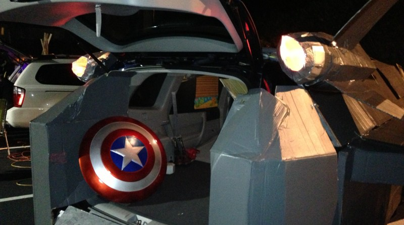 Marvel Avengers Quinjet Inspiration For An Awesome Trunk Or Treat