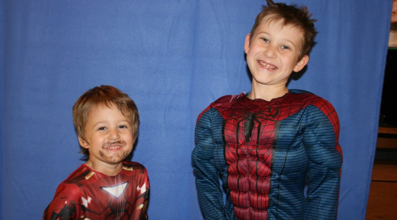December - Iron Man & Spiderman Un-Edited