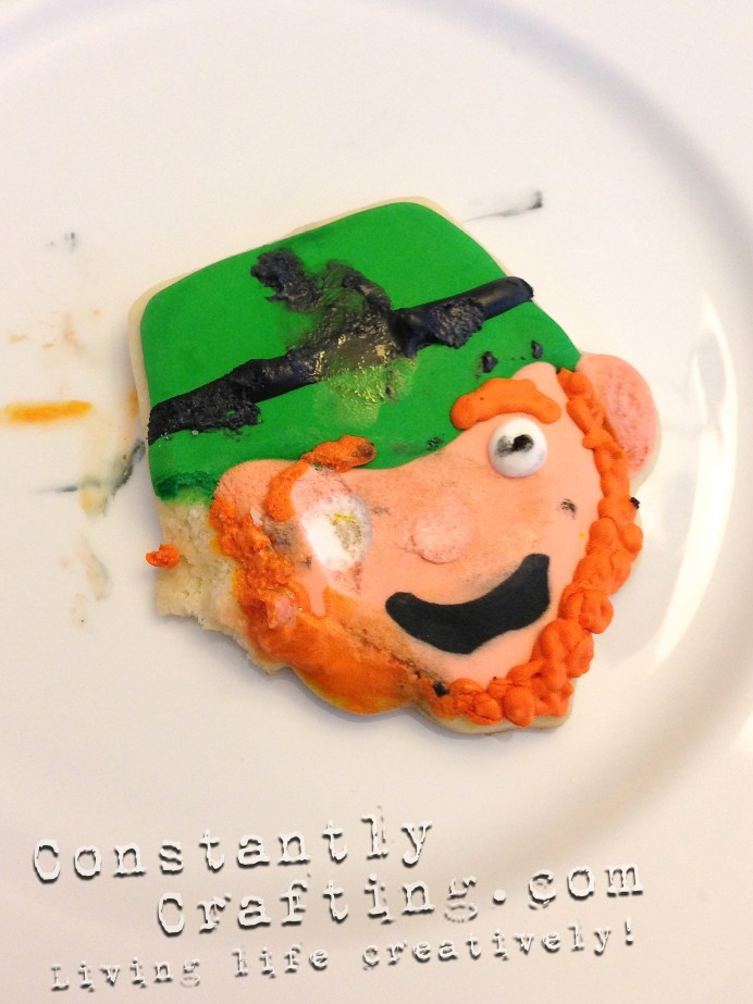 Evil Leprechaun Cookie