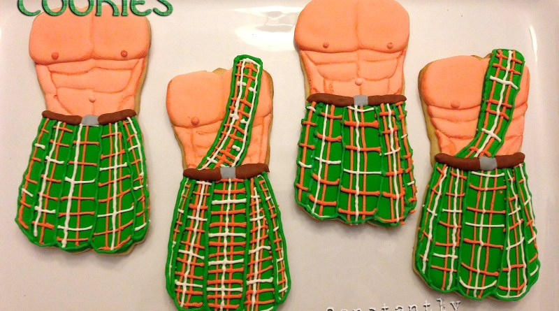Men in Kilts Cookies