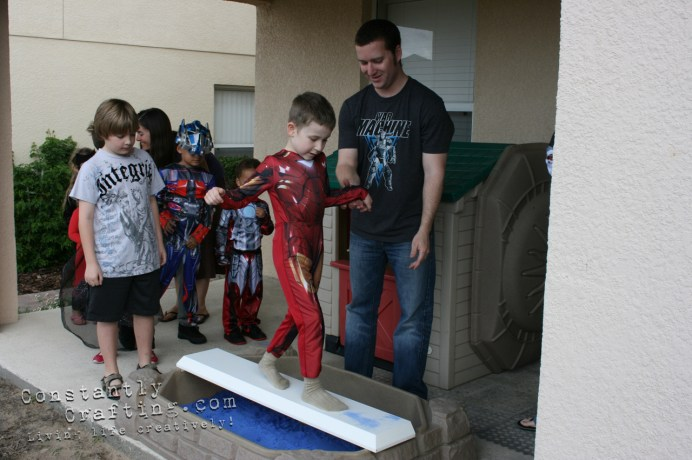 Superhero Challenge Obstacle Course