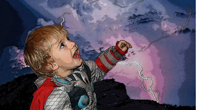 September - Thor Shouting