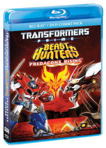 TRANSFORMERS PRIME BEAST HUNTERS – PREDACONS RISING Blue-Ray