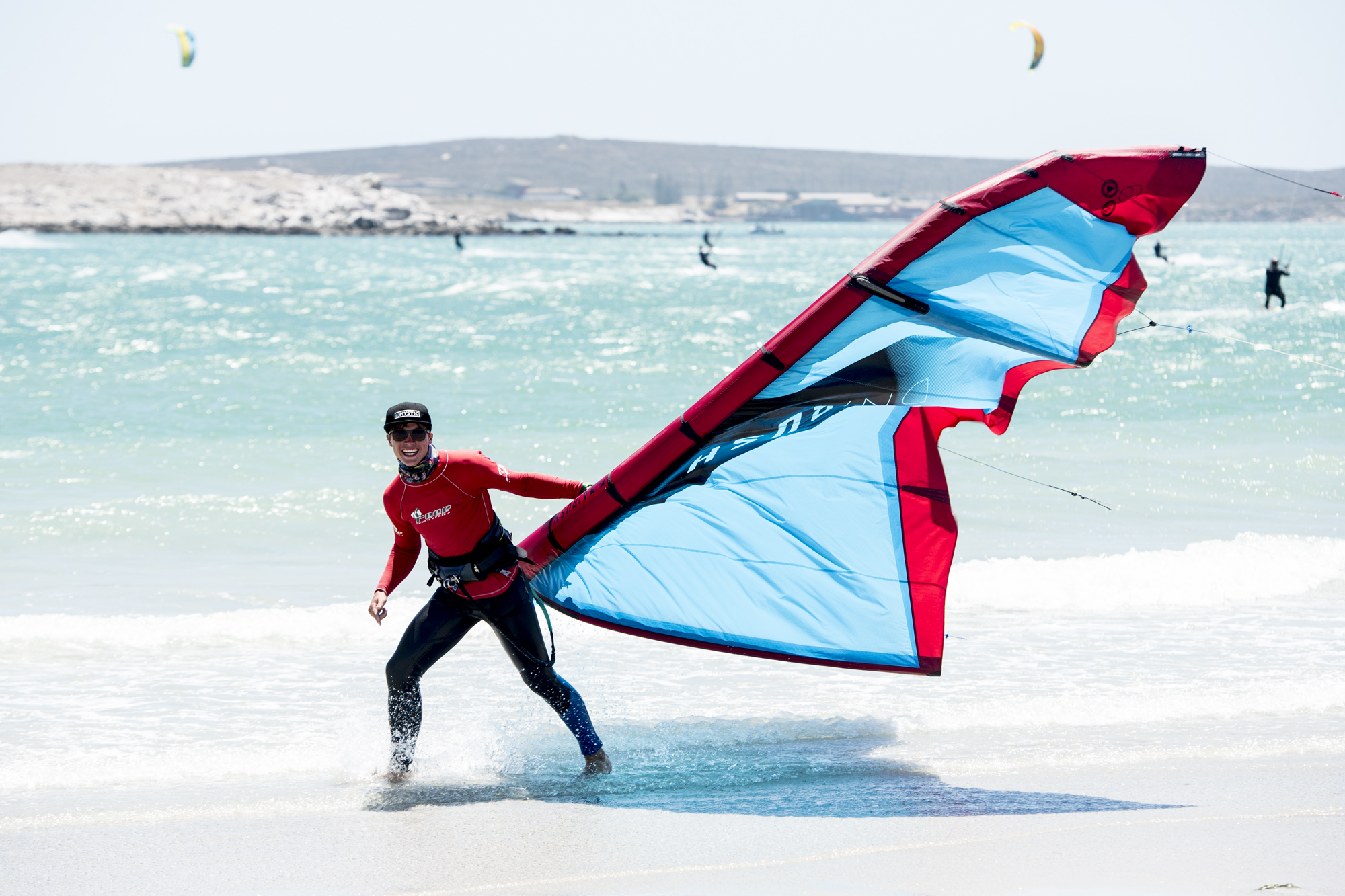 Private kiteboarding lessons langebaan