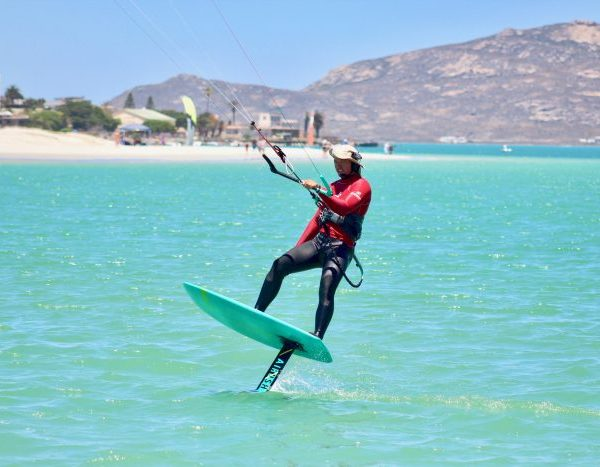 kite foil lessons langebaan