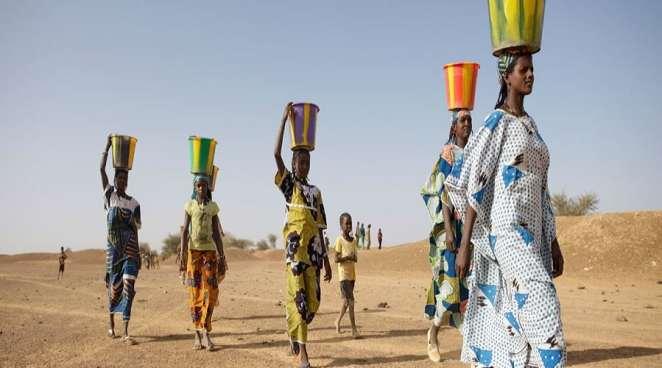 Ourare Allaye Temp village in Mondoro region of Mali.
