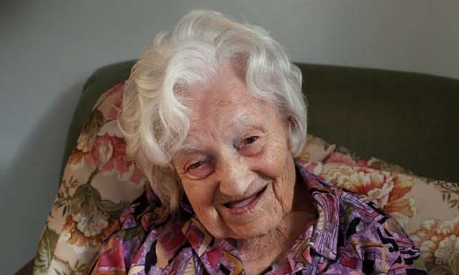 Gadys Hooper, UK oldest woman Photo credit:theguardian.com