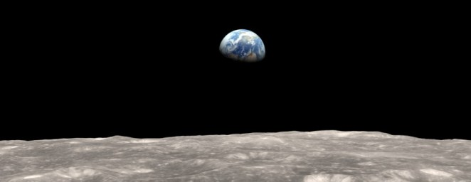 The Moon and The Earth   Photo credit: NASA