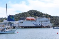 The ferry in Picton