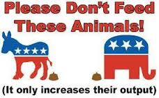 Please Don't Feed These Animals!