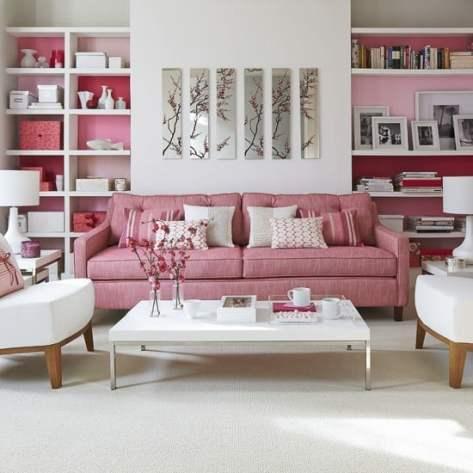 10 sofa rosa chique na decoracao