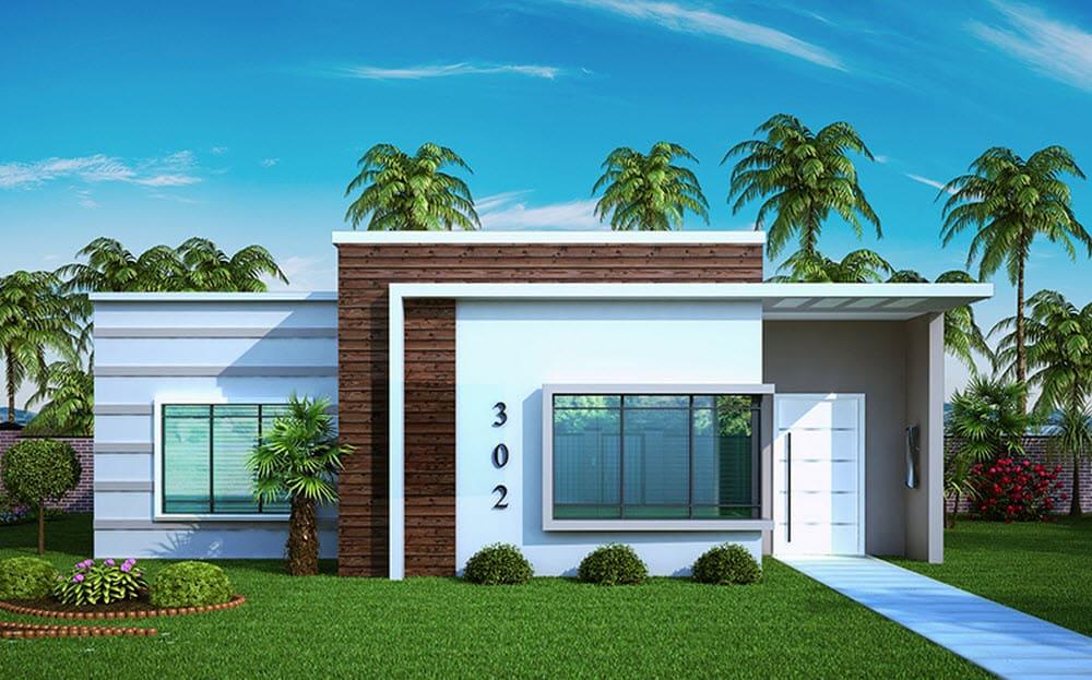 17 ideias de fachada para casas pequenas veja fotos - Fotos de casas pequenas ...