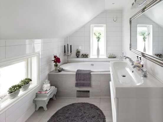 14 banheiro com banheira pequeno e moderno