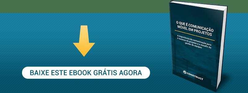 eBook: Comunicação Móvel em Projetos