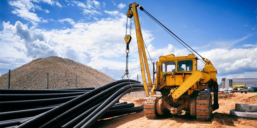 Gerenciar equipamentos para construção civil